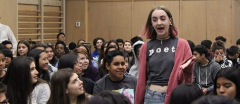 Students and teachers experience a spectrum of emotion at Get Lit assembly