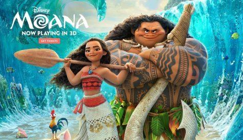 Moana splashes into the Disney franchise with new twist
