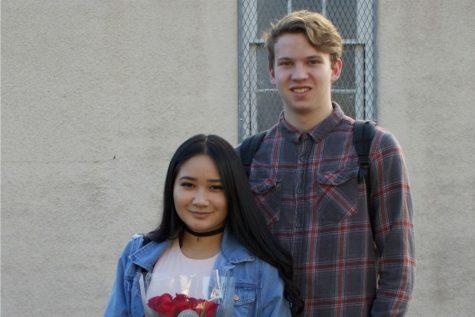 Students celebrate Valentine's Day
