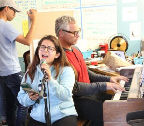 Springing into a new musical production