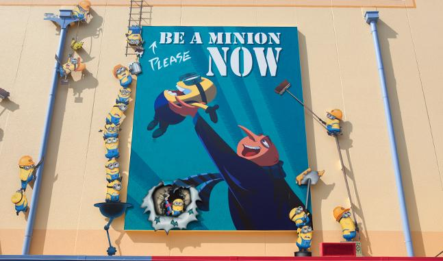 """Photo by universalstudioshollywood.com """"Despicable Me: Minion Mayhem"""" is one of the many rides that will be seen in the 25-year Evolution Plan to bring in more tourists."""