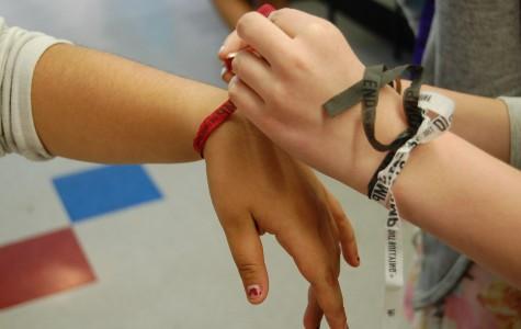 Bracelets promote anti-bullying message