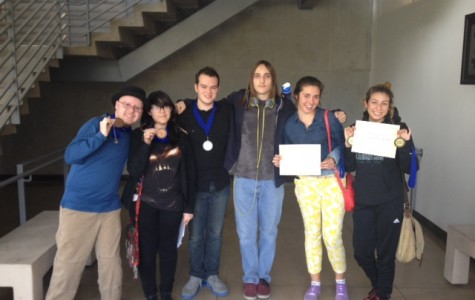 Journalism students tie for first place sweepstakes, win 8 awards at NLAJTA write-off at CSUN
