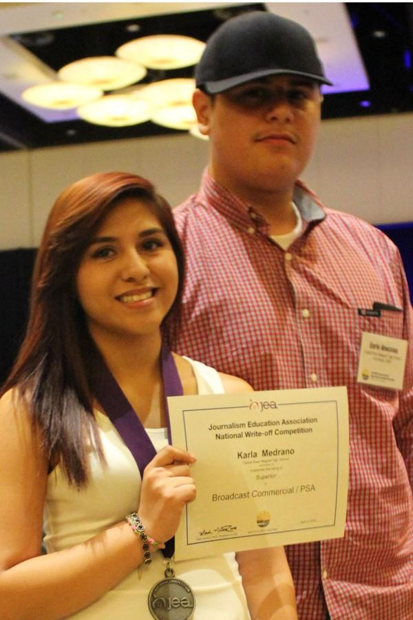 Students attend journalism convention in San Diego
