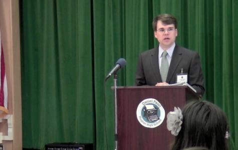 VIDEO: Massie Ristch Visits DPMHS