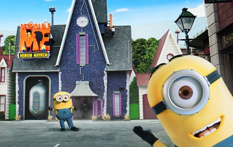 Minions invade Universal Studios Hollywood themepark