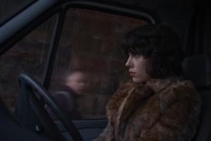 "Scarlett Johansson transforms into a sociopath in ""Under the Skin."" Photo from film.britishcouncil.org."