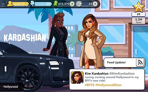 In Kim Kardashian: Hollywood, players get to live the glamorous life of a Hollywood star, complete with fast cars and fancy dresses. Photo courtesy Creative Commons.
