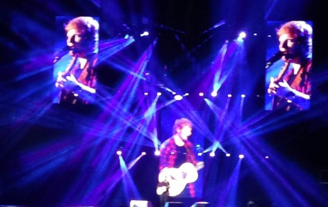 Concert Review: Ed Sheeran busts out with acoustics at Staples Center