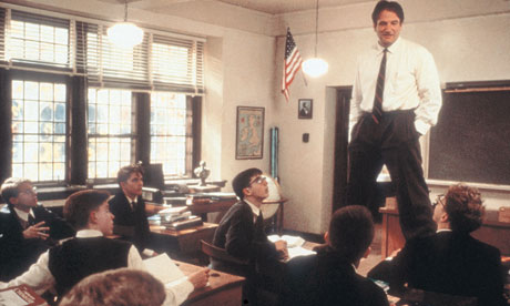 """Carpe diem, boys."" The philosophy of Williams' John Keating from ""Dead Poets Society"" also seemed to be the message that all of his characters sent out to their loving audiences."