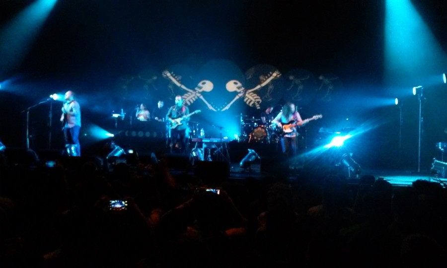 A majority of Bombay Bicycle Club's set list was from their 2014 album