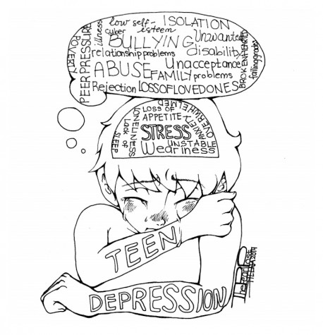 Depression takes a toll on teenagers - The Pearl Post