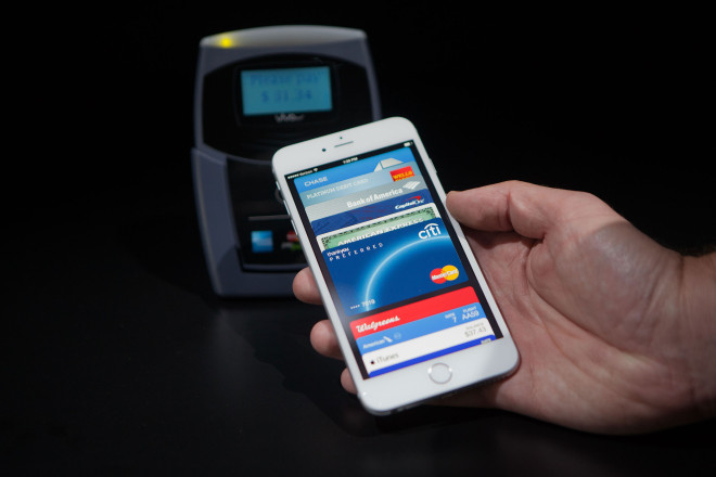 Users can pay for products with the Apple Pay app, instead of using credit cards or PayPal. Users just scan their finger on their Apple device and it makes the purchase.