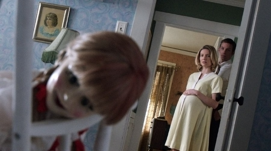 """""""Annabelle"""" is based on the true story of a doll. Photo from anabellemovie.com"""