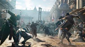 "No female protagonists are seen in the fighting of the game mode. Some gamers view the ""Assassin's Creed V: Unity"" video game as sexist. Photo from Creative Commons."