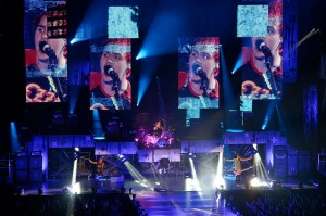 5 Seconds of Summer is seen performing at The Forum in Inglewood California on Nov. 15th, 2014. Photo from creativecommons.org