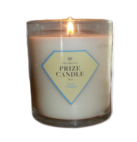 Prize Candles have rings in them that can range from $10 to $5000