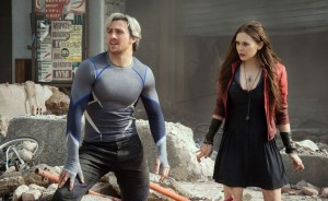 Aaron Taylor-Johnson and  Elizabeth Olsen. Photo from marvel.com