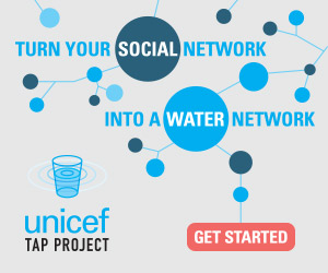 For every 15 minutes that a person doesn't touch their phone, UNICEF will provide a day of clean water for a child in need.