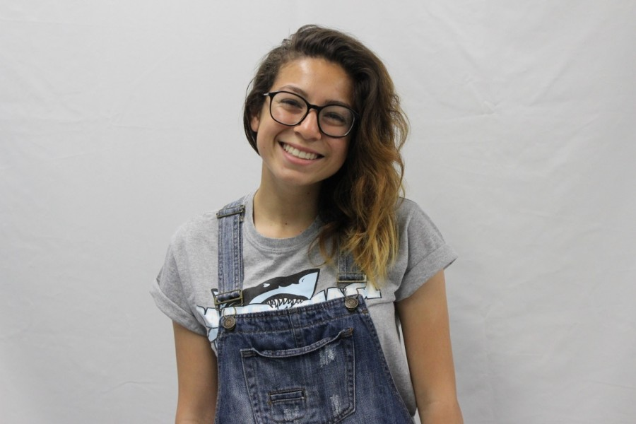 Senior Ana Perez won a $1,000 scholarship from CCNMA: Latino Journalists of California.