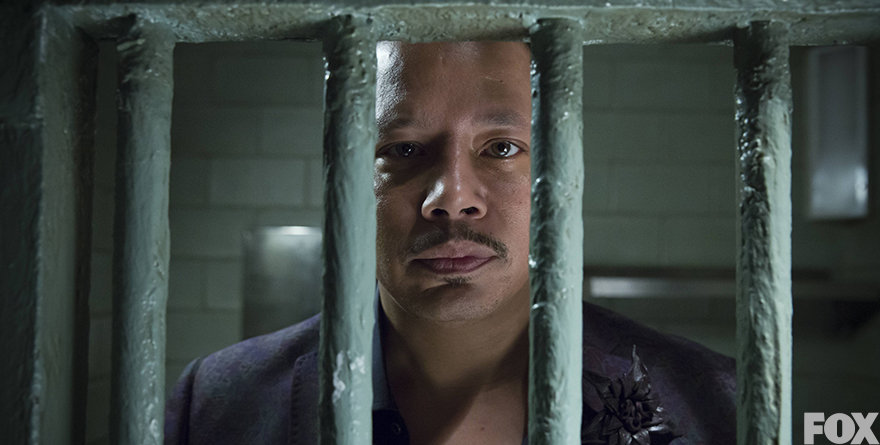 """Terrence Howard, as Lucious, is seen behind bars at the end of the first season of """"Empire."""" The new season is sure to bring lots of drama to the table as tensions rise."""