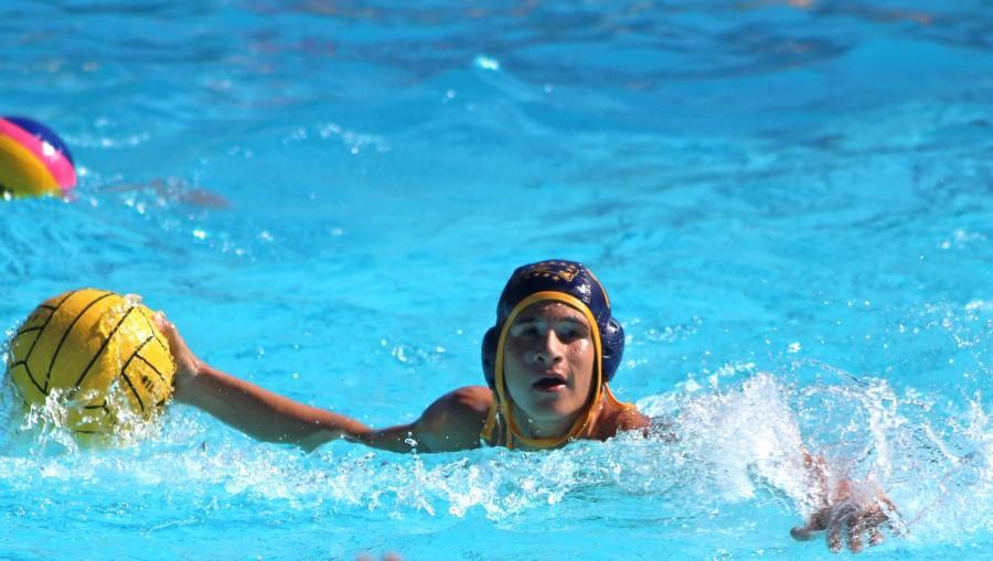 Senior Maxim Grinfeld is this month's athlete.