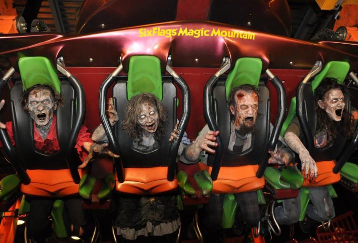Six Flag's Fright Fest ends on Nov. 1.