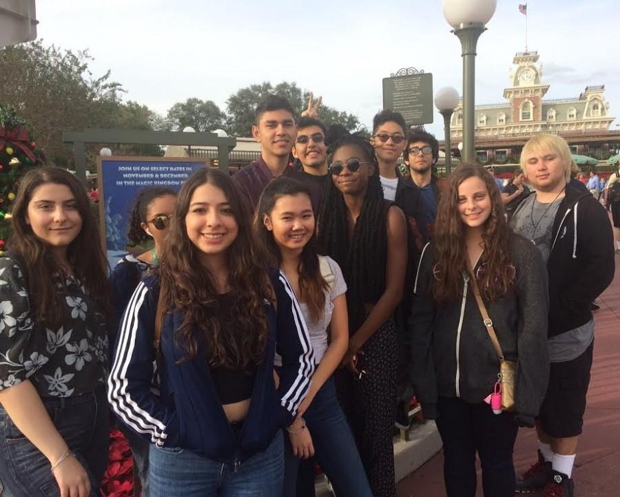 Student journalists relive their childhood at Disney World's Magic Kingdom.
