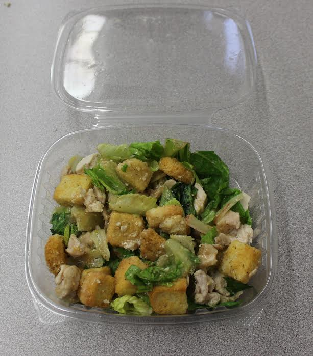 Salads are one of the few vegatarian options students are able to eat on Los Angeles Unified School District campuses.