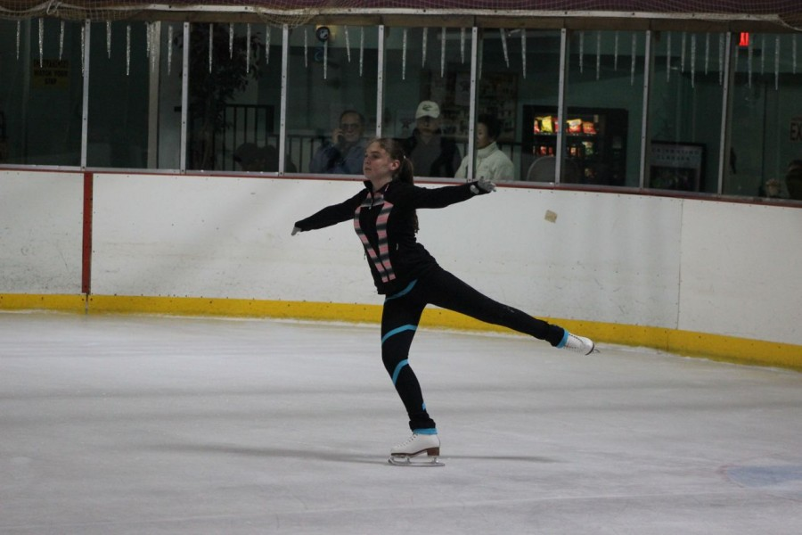 Tateel was inpired by the Winter OlymInpics and now has been skating for almost two years.