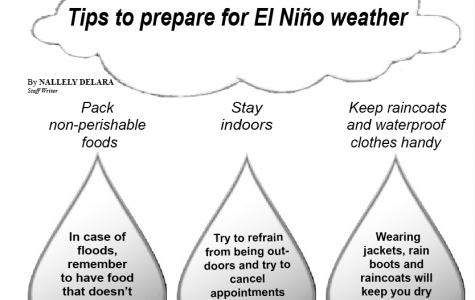 Tips to prepare for El Niño weather