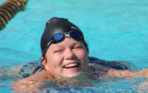 Senior Rosemary Vazquez joined Birmingham's swim team three years ago. She is preparing for the new season.