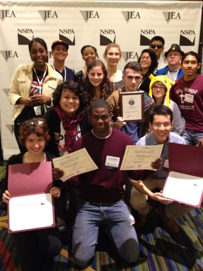 The Pearl Post was nominated as an Online Pacemaker finalist in 2013 at the JEA/NSPA convention in San Francisco.