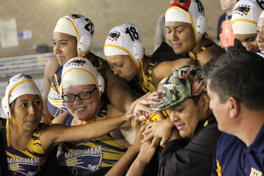 Water polo girls won the city championship on Feb. 25 at Los Angeles Valley College. They were against Eagle Rock High School.