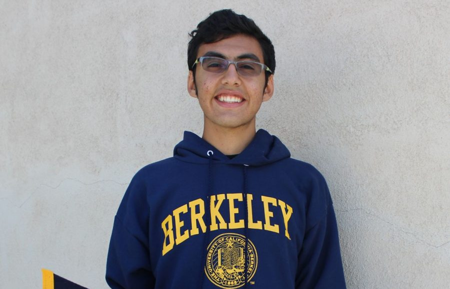 Senior Joseph Mousaed gets a full-ride scholarship to UC Berkeley