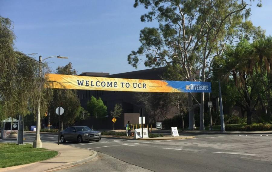 The University of California Riverside welcomes potential students.