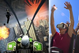 Classic coaster gets a modern twist with virtual reality