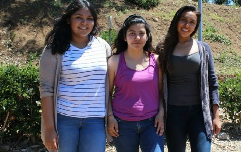 Juniors Elsie Morales, Yoseline Gutierrez, and April Serrano attended the Chicano Youth Leadership Conference in Malibu, California.