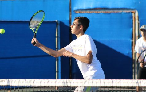 Tennis season ends with a loss at semifinals