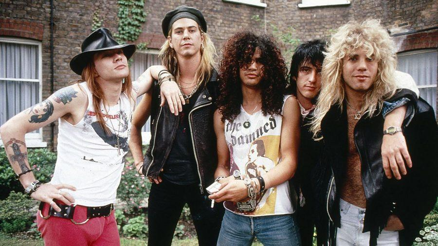 Guns N' Roses was formed in 1985, and recently played two shows in Los Angeles.