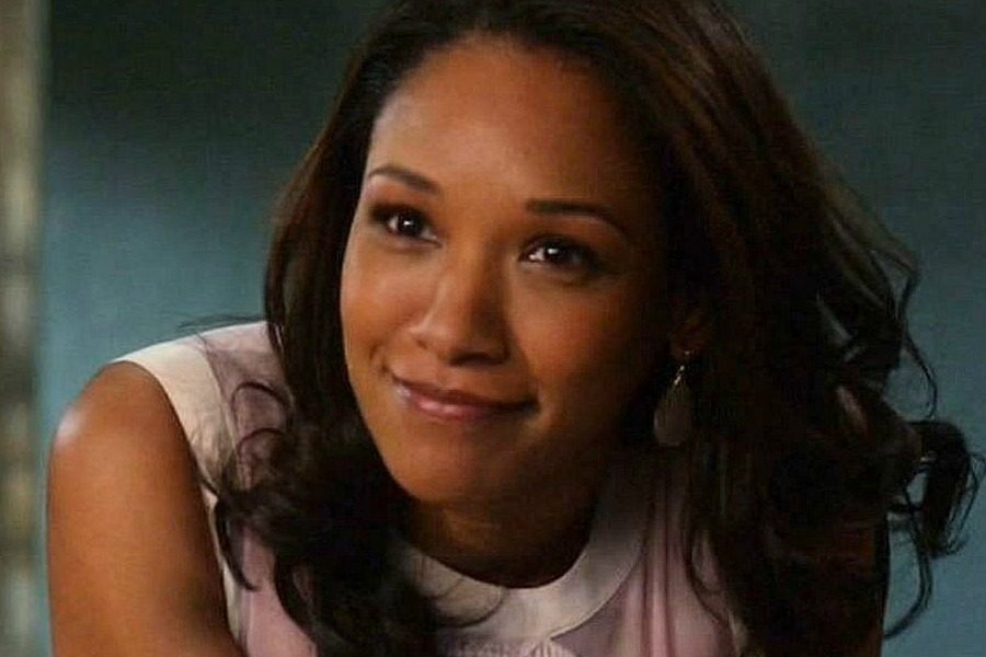Photo by Flickr Iris West (Candice Patton) from CWs The Flash is one person of color on the screen with superheroes.