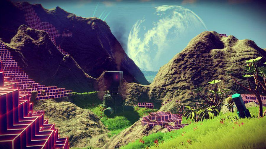No Man's Sky, a new production from Hello Games, enters a whole new world of gaming.