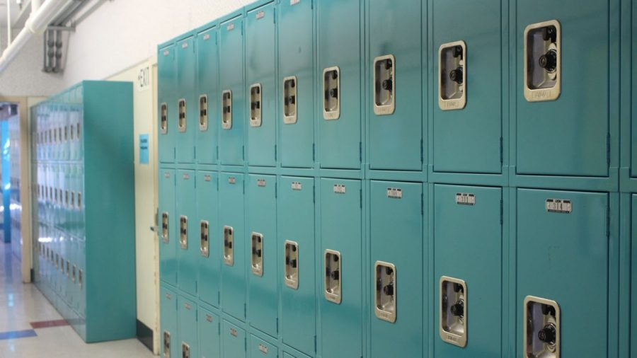 Student expression welcomed on lockers