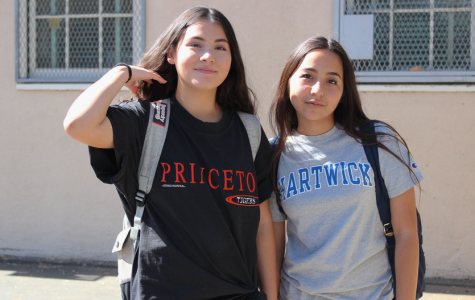 College shirt day takes the school by storm