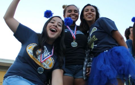 Homecoming parade shows energy within the sports program