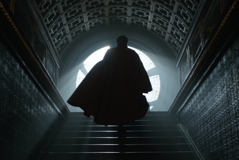 Marvel introduces a new kind of hero casting Benedict Cumberbatch as Doctor Strange.