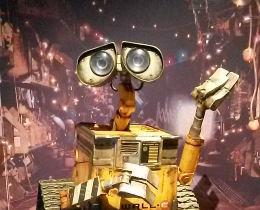 """Pixar's infamous character WALL-E is part of the """"Science Behind Pixar"""" exhibit at the California Science Center opened until April."""