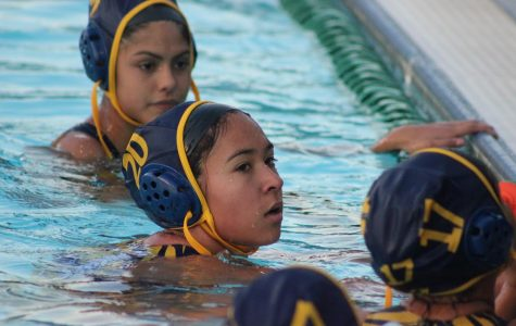 Girls water polo plays to keep their championship