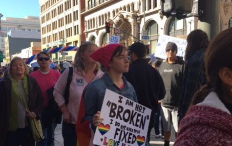 See through the eyes of marcher at the L.A Women's March