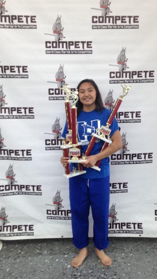 Athlete of the Month: Karate Kid Keonabelle